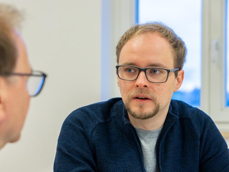 Stadtteilmanagement Lutz Michen und BM Jürgen Opitz