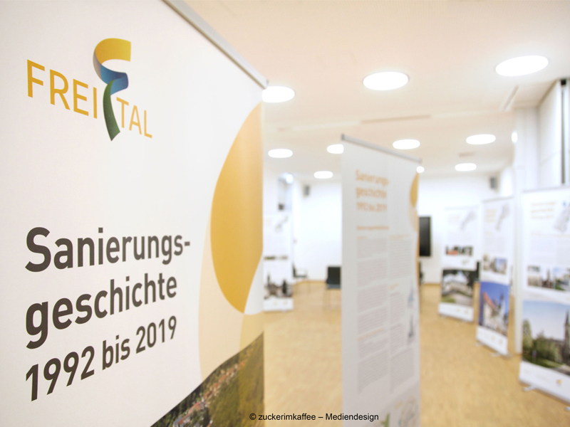 Ausstellung Freital Sanierung