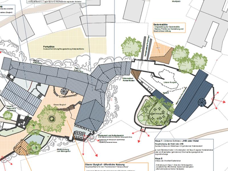 Burg Hohnstein | Plan | Quelle: Stadt Hohnstein