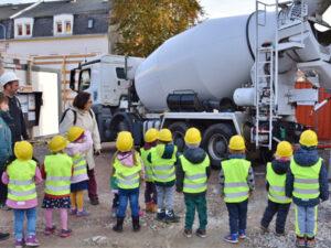 Freiberg | KiTa Pusteblume - betonieren mit Rommel Bau