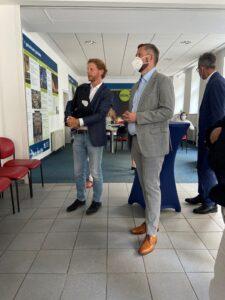 Chemnitz / Wirtschaftsminister Dulig zu Gast auf dem Brühl